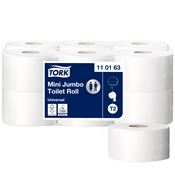 Mini jumbo toilet paper Tork 240m package of 12 rolls