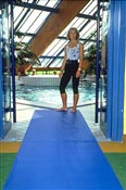 Anti slip mat for wetland Safety-Walk 3200 blue