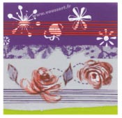 Paper napkins 40x40cm Christmas Prelude package 250