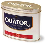 Ouator cleaning copper bronze brass tin box 75 grs