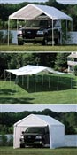 Tent curtains reception and extensions 7.3 x 6.6 m