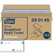 Hand towel Tork H3 folding V blue package 4000