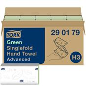 Hand towel Tork advanced green Ecolabel folding V by 3750