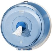 Tork SmartOne mini toilet paper dispenser blue