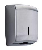 Hand towel dispenser Lensea Rossignol brushed stainless steel