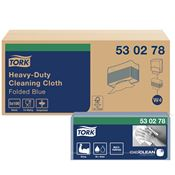 Non-woven cloth Tork Premium 530 Blue Top-Pak package 100