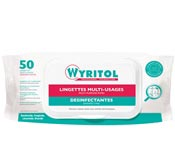 Wyritol disinfectant wipes EN14476 by 50