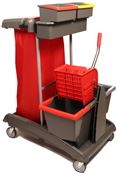 VDM household trolley ideatop 5 with press