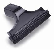 Tapestry vacuum cleaner brush with sliding brush 150mm D 32