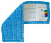 Microfibre mop tongue and pockets 45 x 15 cm