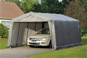 Garage demontable car steel frame and polyethylene 3,7 x 4,9 m