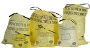 Yellow trash bag DASRI hospital waste 50 liters 500 package