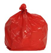 Garbage bag 110 liters red package 200