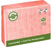 Biodegradable Mop J-Cloth Plus red by 50