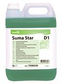 Suma Star D1 detergent plunges Diversey 2 x 5 L
