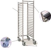 Pastry trolley 15 levels 400x600mm