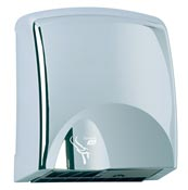 JVD tornado electric hand dryer bright chrome