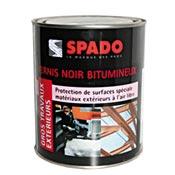 Spado black tar varnish bottle 1L
