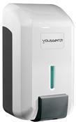 Soap dispenser white gel JVD Cleanline