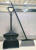 Tilting airport shovel