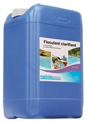 Flocculant clarifying PRO liquid product can pool 20 L