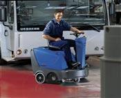 AUTOPORTEE Sweeper Nilfisk Alto Floortec thermal gas