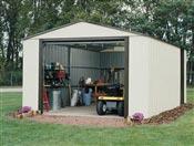 Garage demontable Arrow galvanized metal 10 m2