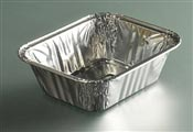 Aluminum tray 490 cc package 1600