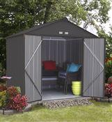 Garden shed Arrow Ezee shed EZ87 dark gray