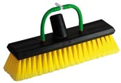 Brush for cleaning solar panels yellow Unger
