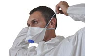 Disposable mask FFP2 valve by 10