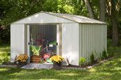 Metal garden shed Arrow OB1014 12 m2 galvanized steel