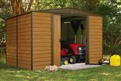 Garden shed Arrow WR108 galvanized steel 7m2 imitation wood