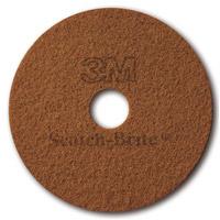 Acheter 3M Scotch Brite disc crystallization sienna 432mm by 5