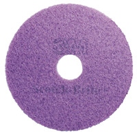 Acheter 3M Scotch Brite disc crystallization Mauve 380 mm package 5