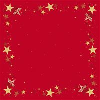 Acheter Dunicel red tablecloth 84x84 pack of 5