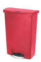 Acheter Garbage Rubbermaid Slim Jim 90L red