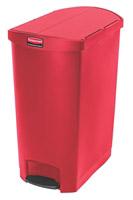 Acheter Dustbin 90 L Rubbermaid Slim Jim narrow red