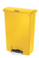 Acheter Garbage Rubbermaid Slim Jim 90L yellow