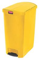 Acheter Dustbin 90 L Rubbermaid Slim Jim narrow yellow