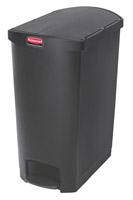 Acheter Garbage Rubbermaid Slim Jim 90L black narrow