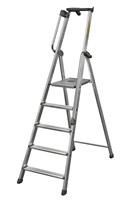 Acheter Aluminum ladder with handrail XL type 4 steps