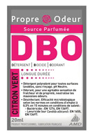 Acheter Clean Air freshener smell cleaner BOD lime 250 doses