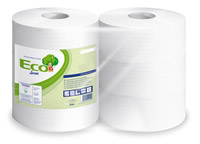 Acheter jumbo toilet paper white 2 ply ecolabel package 6
