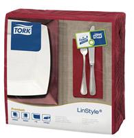 Acheter Tork towel Linstyle dinner bordeaux 600