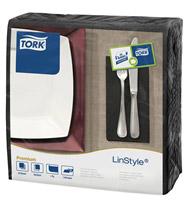 Acheter Tork towel Linstyle black dinner 600