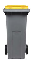 Acheter 2 wheel waste container 240 Litres yellow front socket