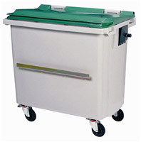 Rollcontainer alu  Waste container