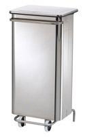 Acheter Kitchen trash HACCP collecroule 110 L stainless steel