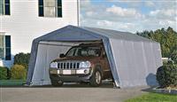 Acheter Garage demontable car steel frame and polyethylene 3,6 x 6,1 m